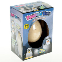 PACK OF 2- Penguin Hatching Egg Toy Gift