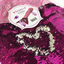 NEW Pink Sequin Mermaid Blanket Cosy Foot Warmer Gift