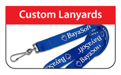 Custom Lanyard - Click Here for a  FREE Quote / Proof