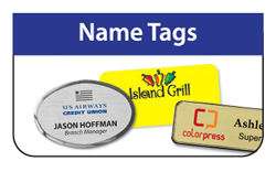 Name Tags - Click Here for a FREE Quote / Proof