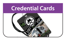 Credential Cards - Click Here for a FREE Quote / Proof