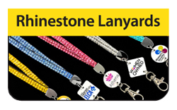 Rhinestone Lanyards - Click Here for a FREE Quote / Proof