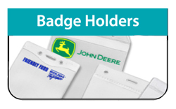 Badge Holders - Click Here a FREE Quote / Proof