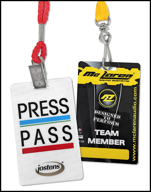 Credential Card and Event Badge