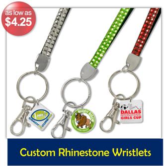 Custom Rhinestone Wristlets