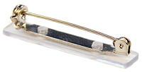 Bar Pin with Vinyl Pad