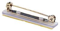 Bar Pin with Adhesive Pad