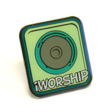 """Etched Lapel Pin (0.75"""")"""