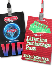 "Credential Cards, Full Color - 5.5"" x 3.5"""