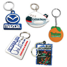 Custom Soft PVC Keychain - 2.25""