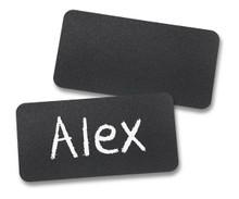 """Chalkboard Reusable Name Tags (1-1/2""""X3"""")"""