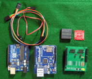 Complete RFID Reader with Two Reader Heads