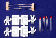 4 pack parts, weights also supplied