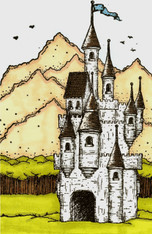 Tall Castle Scene