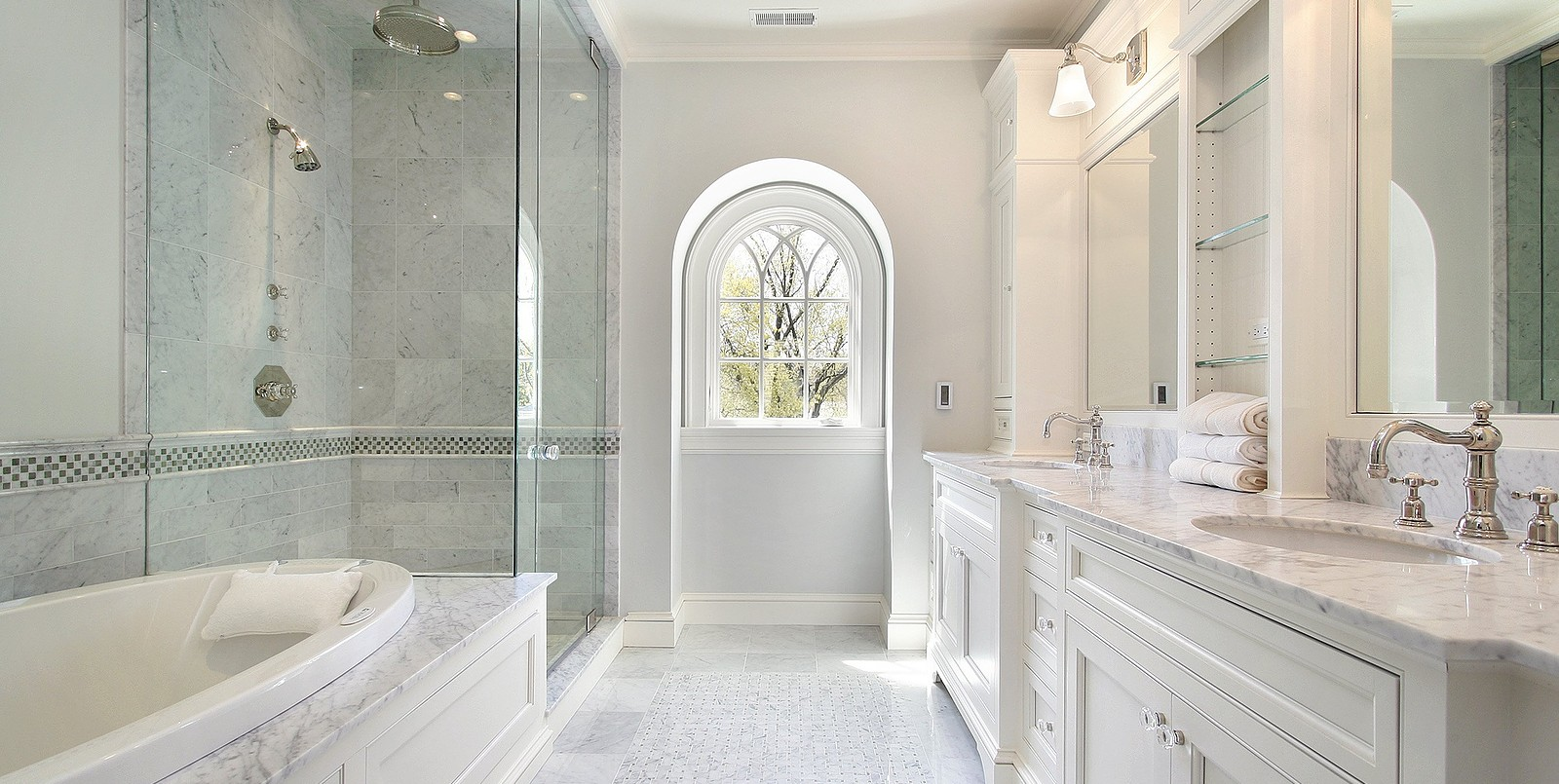 luxury white bathrooms fred s home 13561 | luxury master bath