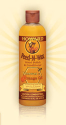 Howard Feed-N-Wax Wood Polish & Conditioner 16 oz. 12 Pack