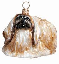 Pekingnese Dog - Joy To The World Ornament