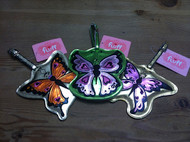 Fluff Butterfly Luggage Tags