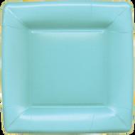 Caspari 'Grosgrain' Blue Salad/Dessert Plates