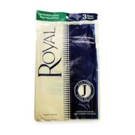 Royal Type J Vacuum Bags 3 Pack