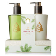 Thymes Frasier Fir Hand Wash/Hand Lotion Sink Set