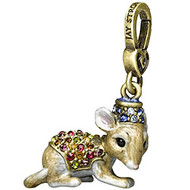 Jay Strongwater Mouse Charm 'Sherwin'