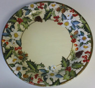 Ideal Home Range 'Winter Flora' Creme Dinner Plates