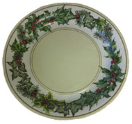 Ideal Home Range 'Christmas Garland' Cream Dinner Plates