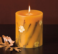 Rosy Rings Honey Tobacco Botanical Candle