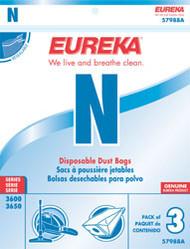 Eureka Style N Disposable Dust Bags