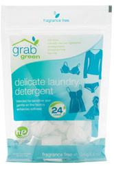 GrabGreen Delicate Laundry Detergent, Fragrance Free, 24 Loads
