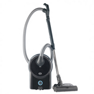 SEBO Airbelt D4 Black Premium Canister Vacuum Cleaner with Power Head