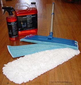 Fred's Wood Floor Care Kit / Laminate Floor Care