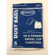 Envirocare GE, Premier and Whirlwind Canister Vacuum Bags