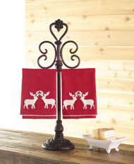 Mudpie Reindeer Fingertip Tea Towels