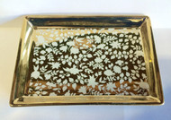 Fringe Studios White Gold Vine Soap Tray