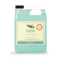 Fruits & Passion Cucina Rosemary and Cardamom Purifying Hand Wash Refill 33.8 oz