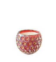 Opaline Rouge Orb Glass Candle