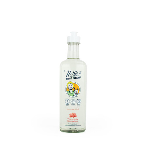 Nellie's All-Natural One Soap Water Lilly