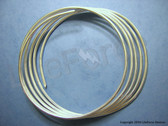 """10 gauge 9999 Pure Silver Wire 60"""" Length"""