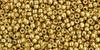 Toho Seed Beads 15/0 Rounds Permanent Finish Galvanized Starlight