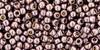 Toho Seed Beads 11/0 Round Permanent Finish Galvanized Lilac 8 g.