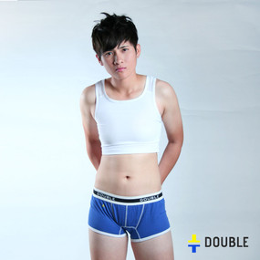 Buckle hook chest binder white