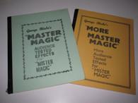 Blake, George - Double Play - Master Magic I and II ( 2 Books)