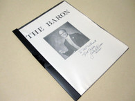 Baron, Jules D. - The Baron (INSCRIBED)