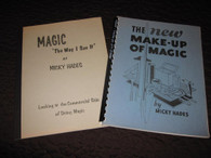 "Hades, Micky - ""The New Make-Up of Magic"" & ""Magic The Way I See It"""