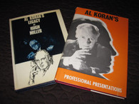 Miller, Hugh (Editor) - 2 VOLUMES-Al Koran's Professional Presentations & Al Koran's Legacy