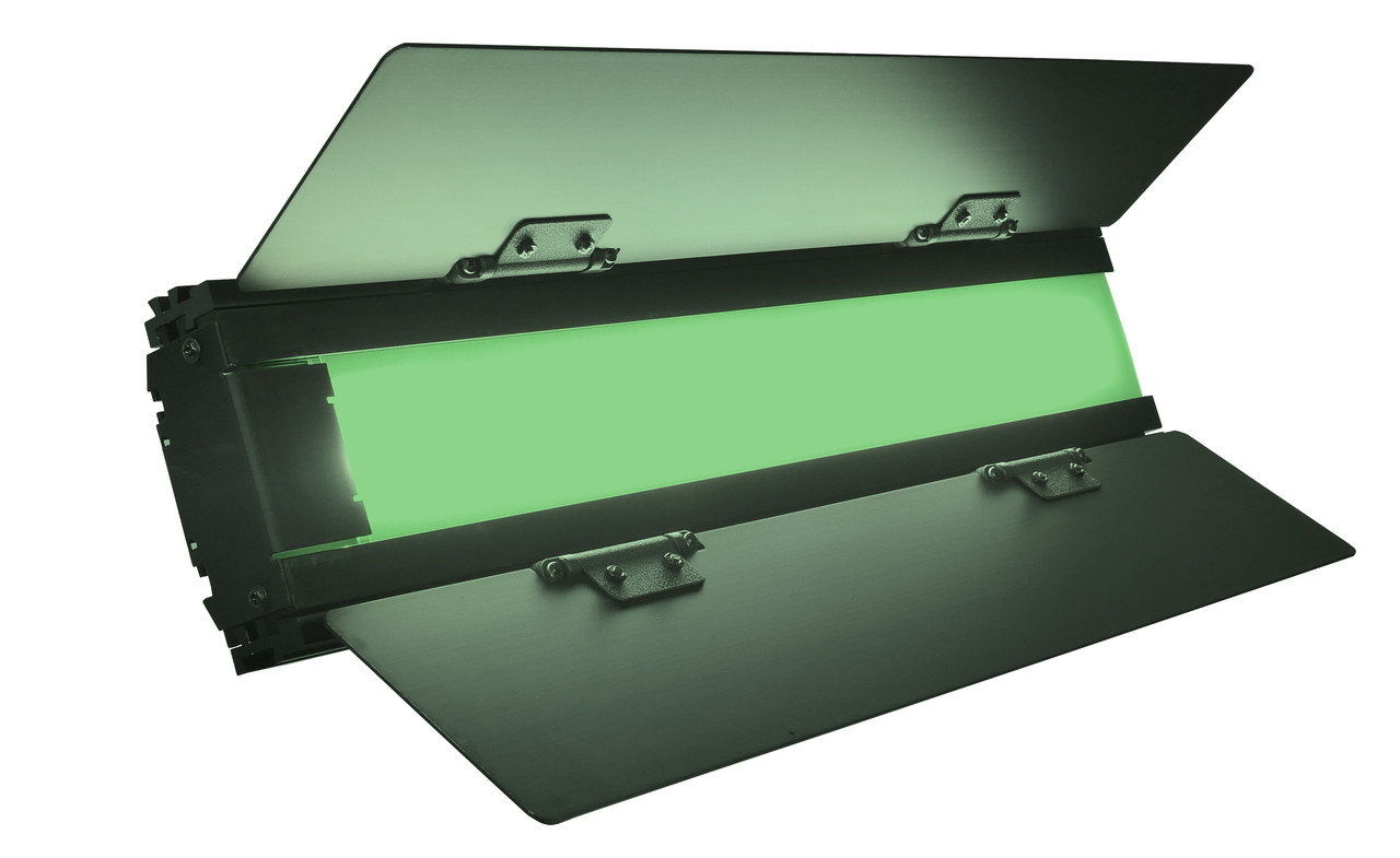 """Green BladeLight 18"""" Green Screen Chroma and Hue Keying for Perfect Keys and Less time on Post Production and Less expense for Post Production with smart green screen lighting in Production"""