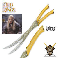 The Lord of the Rings Fighting Knives of Legolas Greenleaf UC1372