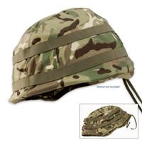 British Military Surplus Used Helmet Cover Camouflage